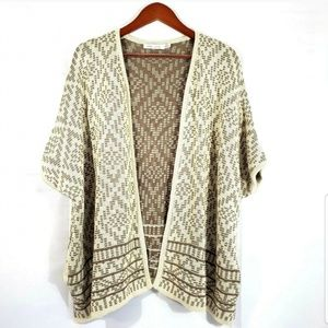 Anthropologie Bishop + Young Open Front Cardigan